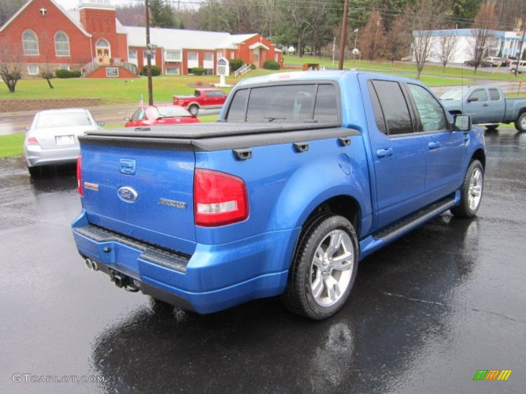 blue flame metallic 2010 ford explorer sport trac adrenalin awd exterior photo 57039294. Black Bedroom Furniture Sets. Home Design Ideas