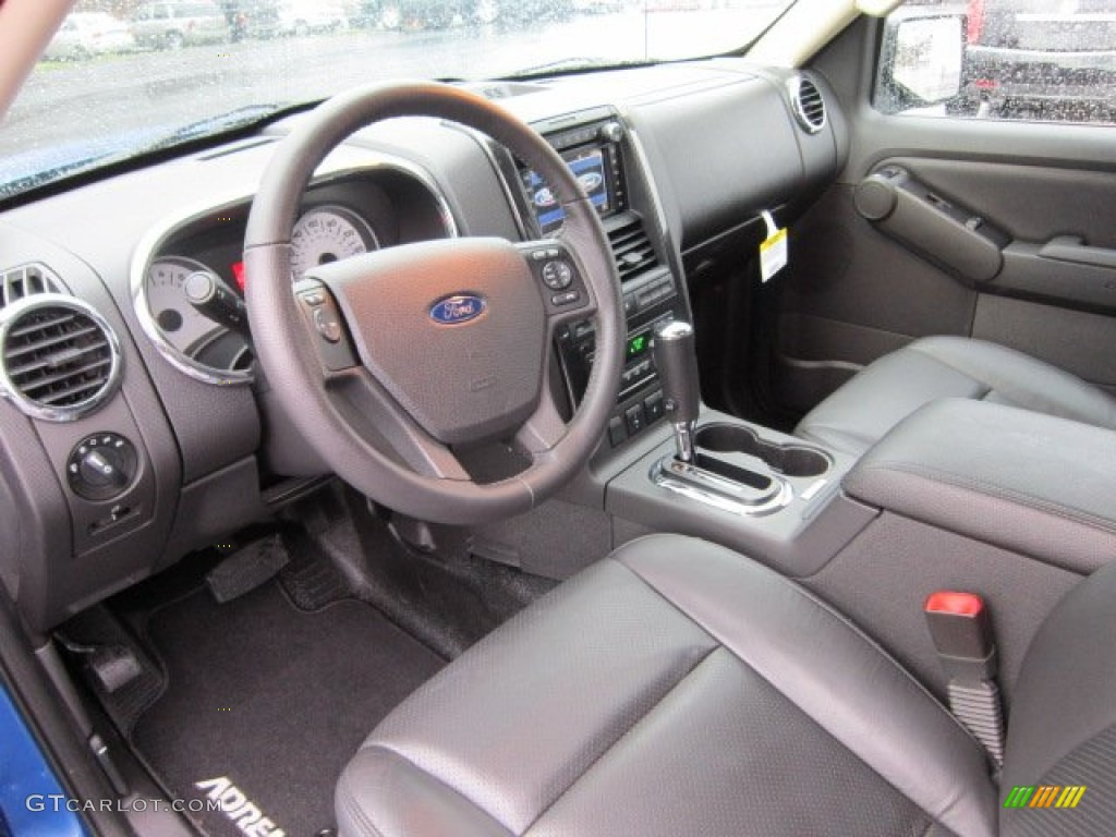 adrenalin charcoal black interior 2010 ford explorer sport. Black Bedroom Furniture Sets. Home Design Ideas