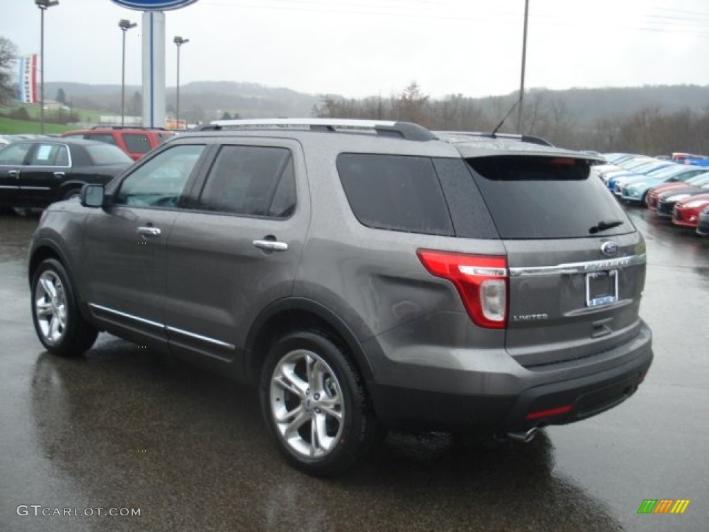 Sterling gray metallic 2012 ford explorer limited 4wd - Ford explorer exterior dimensions ...