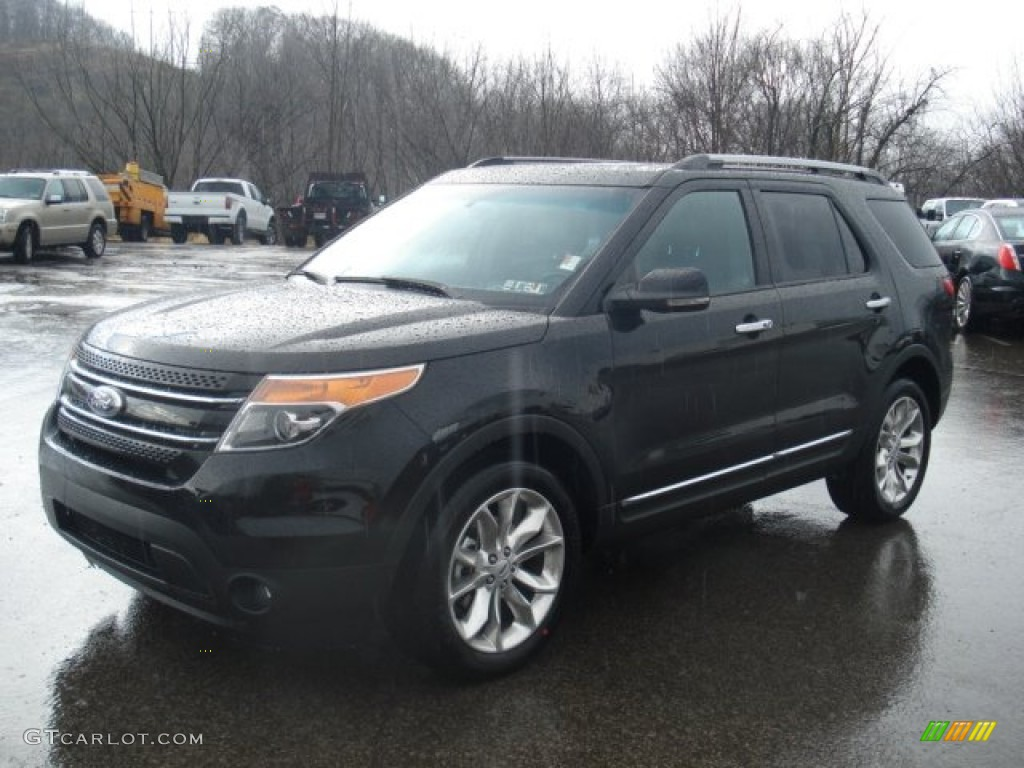 Black 2012 Ford Explorer Limited 4wd Exterior Photo