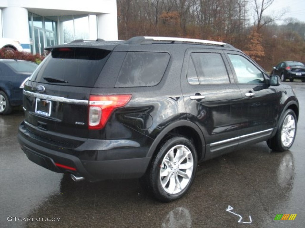 Black 2012 Ford Explorer Limited 4wd Exterior Photo 57041900