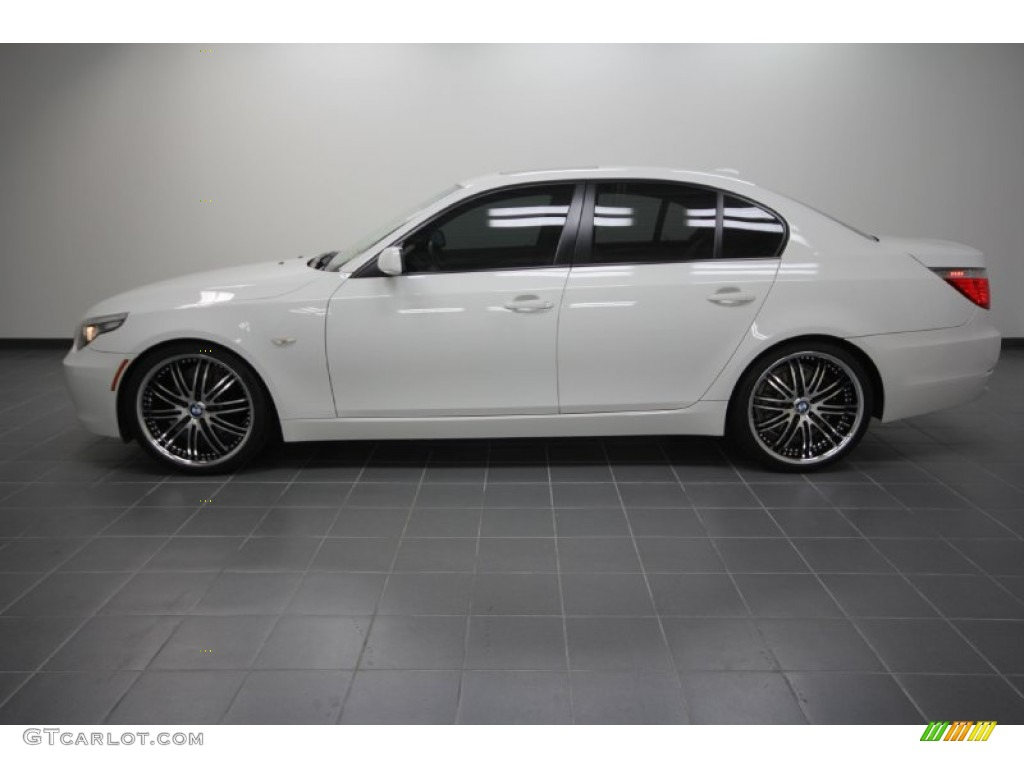 2008 BMW 5 Series 528i Sedan Custom Wheels Photo 57047422