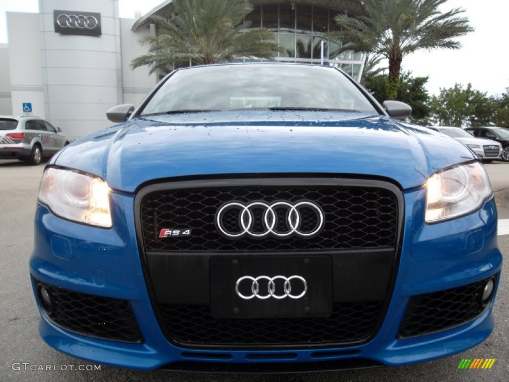 sprint blue pearl effect 2008 audi rs4 4 2 quattro sedan exterior photo 57051176. Black Bedroom Furniture Sets. Home Design Ideas