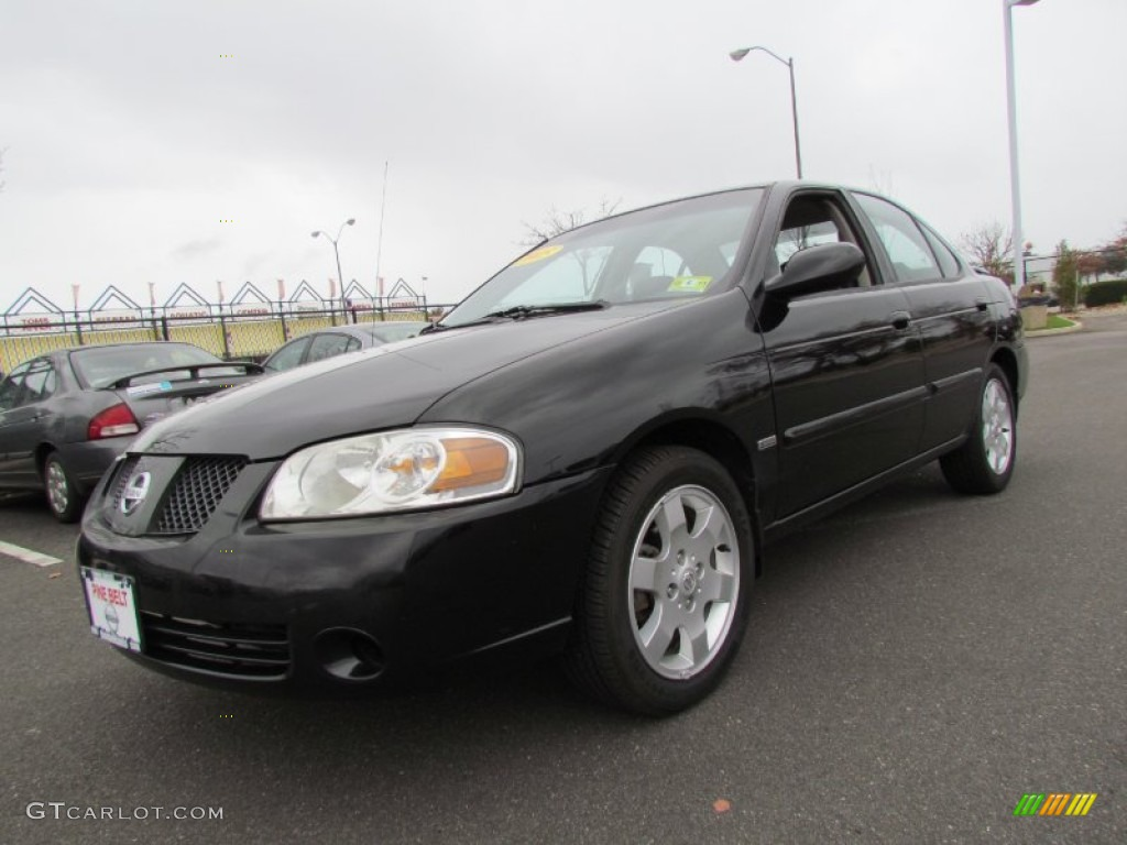 blackout 2005 nissan sentra 1 8 s special edition exterior. Black Bedroom Furniture Sets. Home Design Ideas