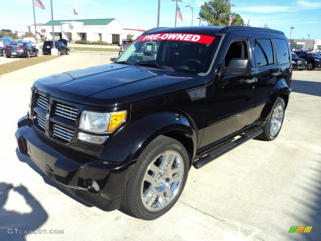 2007 black dodge nitro r t 57034307 car. Black Bedroom Furniture Sets. Home Design Ideas