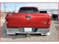 2007 Inferno Red Crystal Pearl Dodge Ram 3500 Laramie Mega Cab 4x4 Dually  photo #4