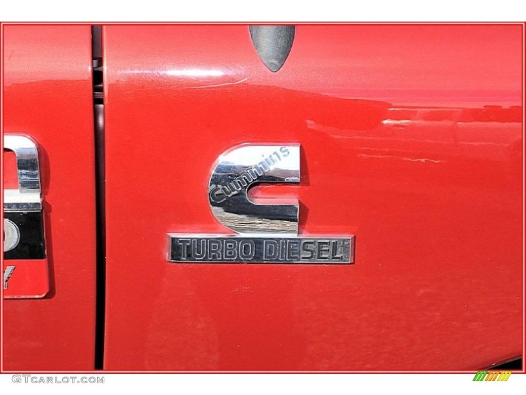 2007 Ram 3500 Laramie Mega Cab 4x4 Dually - Inferno Red Crystal Pearl / Medium Slate Gray photo #10