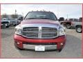 2007 Inferno Red Crystal Pearl Dodge Ram 3500 Laramie Mega Cab 4x4 Dually  photo #13