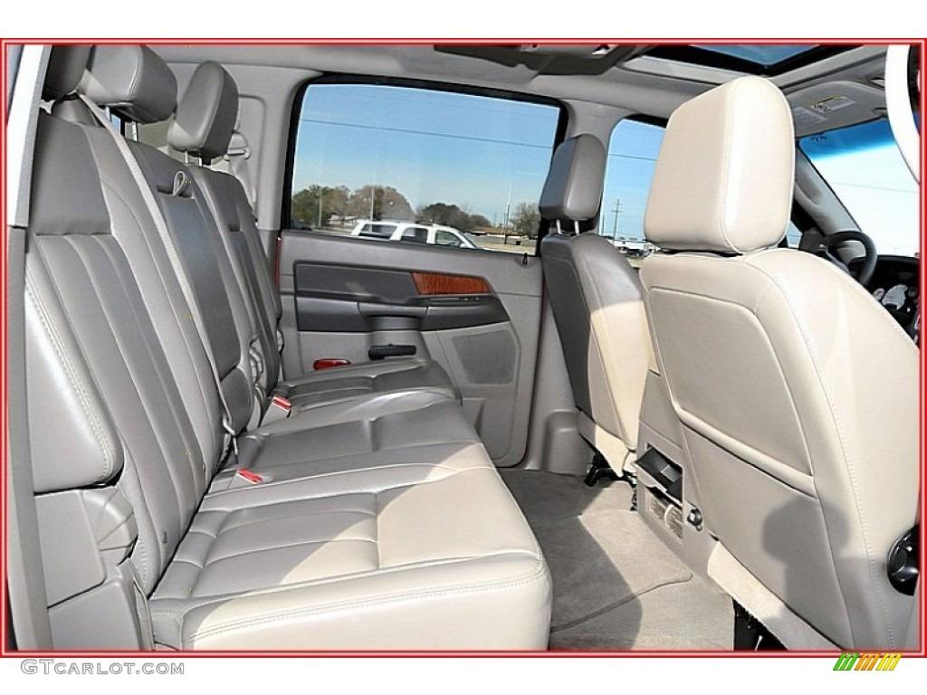 2007 Ram 3500 Laramie Mega Cab 4x4 Dually - Inferno Red Crystal Pearl / Medium Slate Gray photo #22