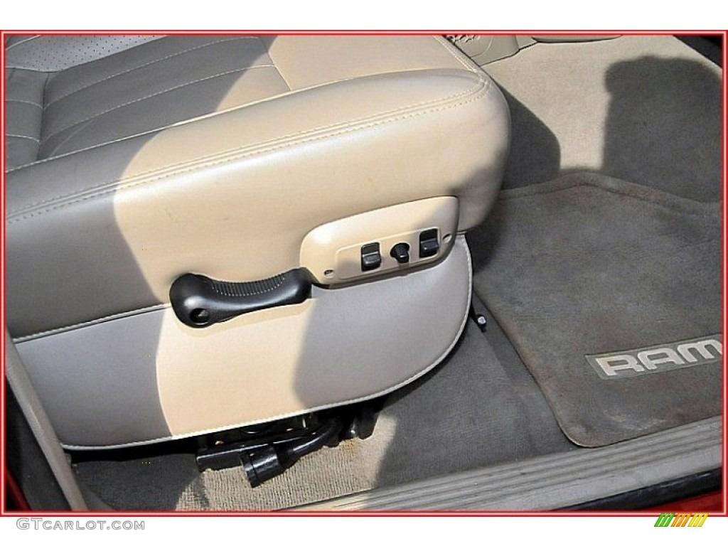 2007 Ram 3500 Laramie Mega Cab 4x4 Dually - Inferno Red Crystal Pearl / Medium Slate Gray photo #24