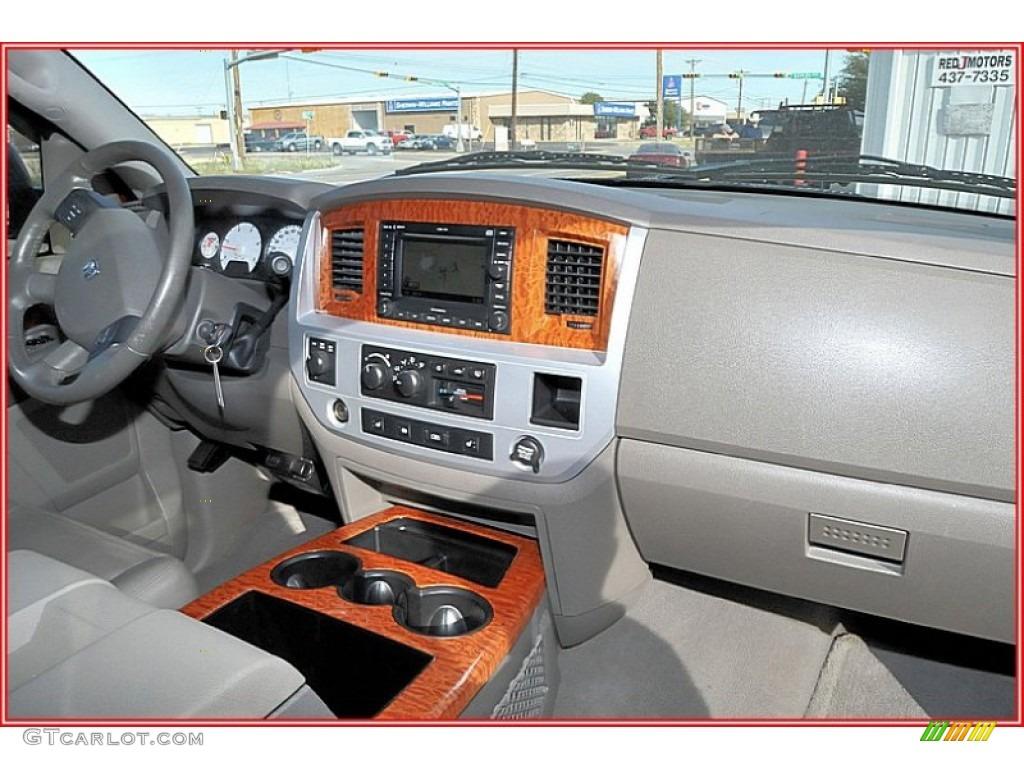 2007 Ram 3500 Laramie Mega Cab 4x4 Dually - Inferno Red Crystal Pearl / Medium Slate Gray photo #27