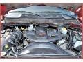 2007 Inferno Red Crystal Pearl Dodge Ram 3500 Laramie Mega Cab 4x4 Dually  photo #30