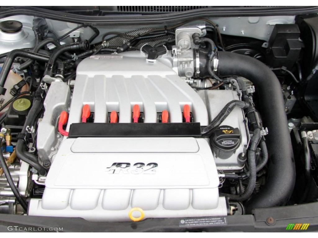2004 Volkswagen R32 Standard R32 Model 32 Liter DOHC 24Valve V6