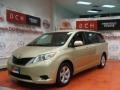 2011 Sandy Beach Metallic Toyota Sienna LE  photo #1