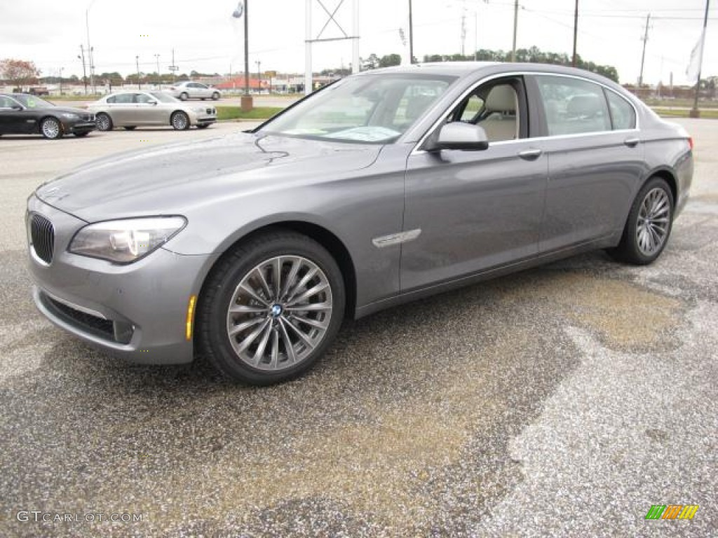 space grey metallic 2012 bmw 7 series 740li sedan exterior. Black Bedroom Furniture Sets. Home Design Ideas