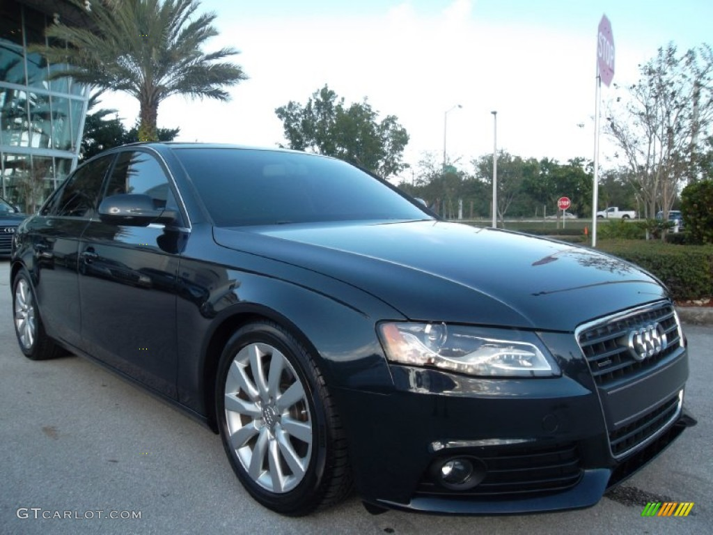 Moonlight Blue Metallic 2012 Audi A4 2.0T quattro Sedan Exterior Photo #57065751 | GTCarLot.com