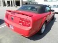 2007 Torch Red Ford Mustang GT Premium Convertible  photo #11