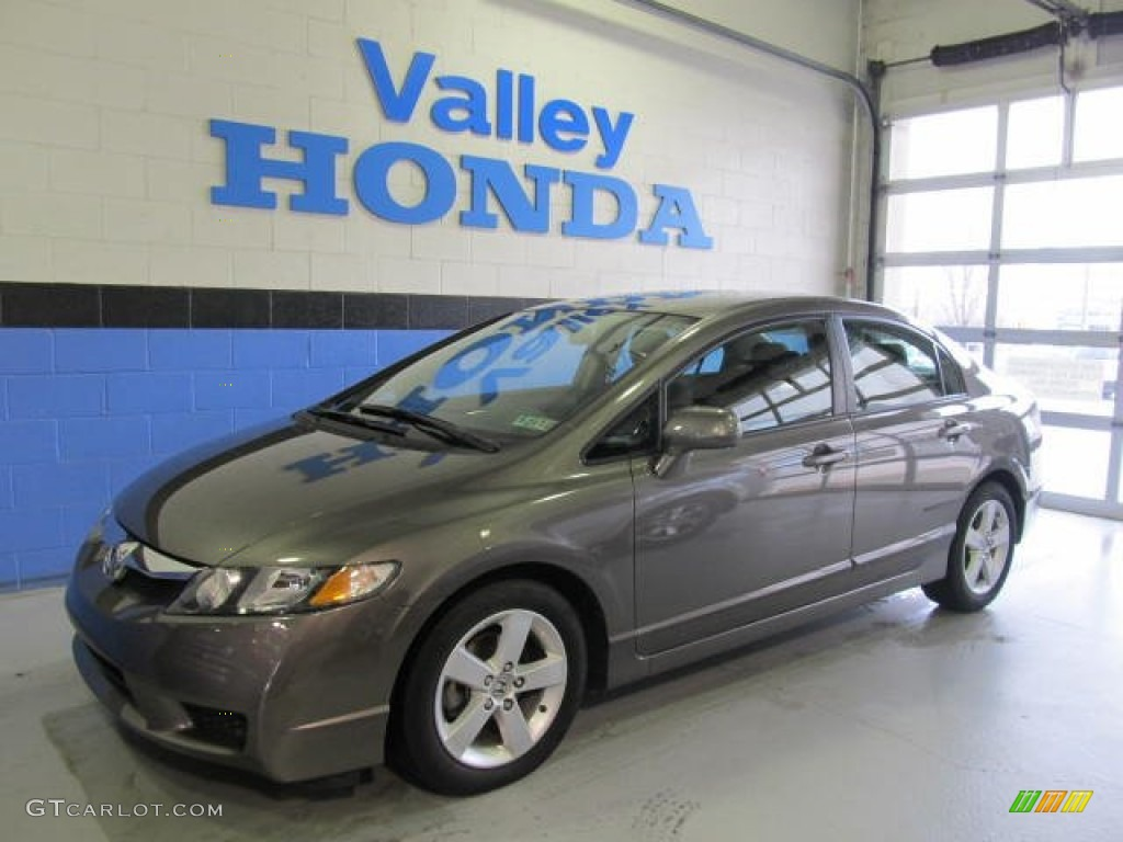 Urban Titanium Metallic Honda Civic. Honda Civic LX S Sedan