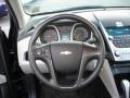 Jet Black/Light Titanium Steering Wheel Photo for 2010 Chevrolet Equinox #57079505