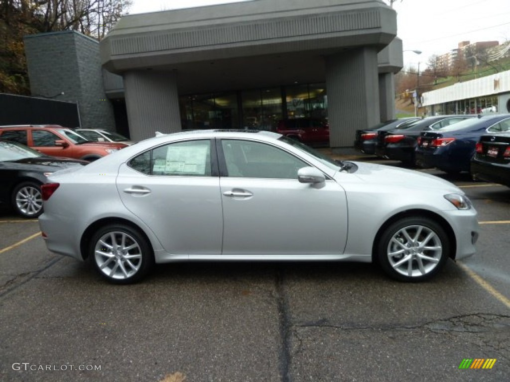 tungsten silver pearl 2012 lexus is 250 awd exterior photo. Black Bedroom Furniture Sets. Home Design Ideas