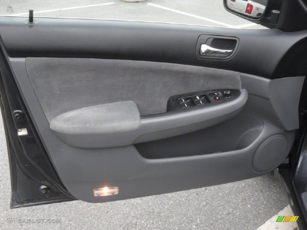 2005 Honda Accord Lx Sedan Gray Door Panel Photo 57090734