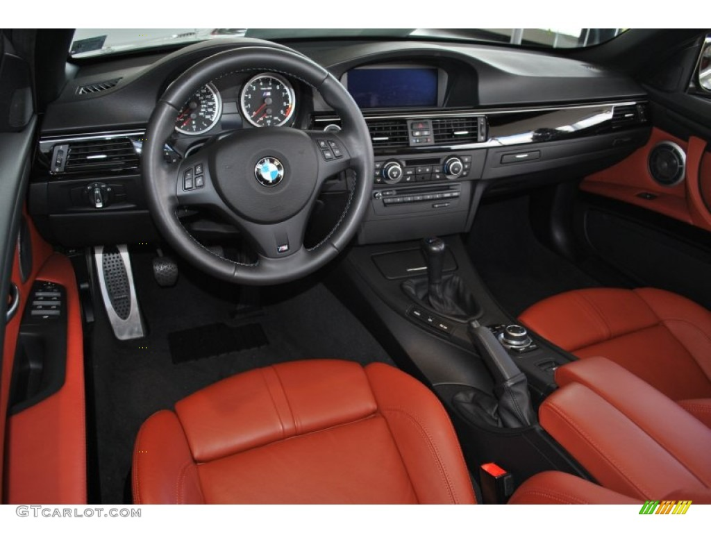 Fox Red Novillo Leather Interior 2011 Bmw M3 Convertible Photo 57102798