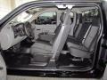 2011 Black Chevrolet Silverado 1500 Extended Cab  photo #10