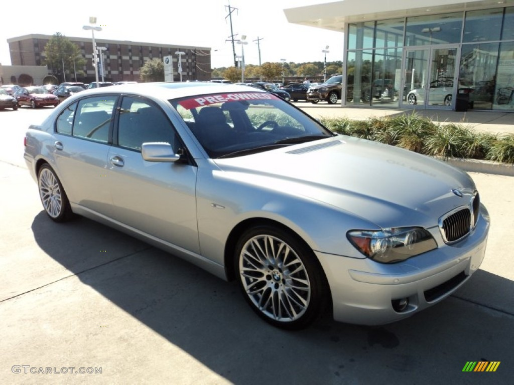 Titanium Silver Metallic 2007 BMW 7 Series 750Li Sedan Exterior Photo 57134422