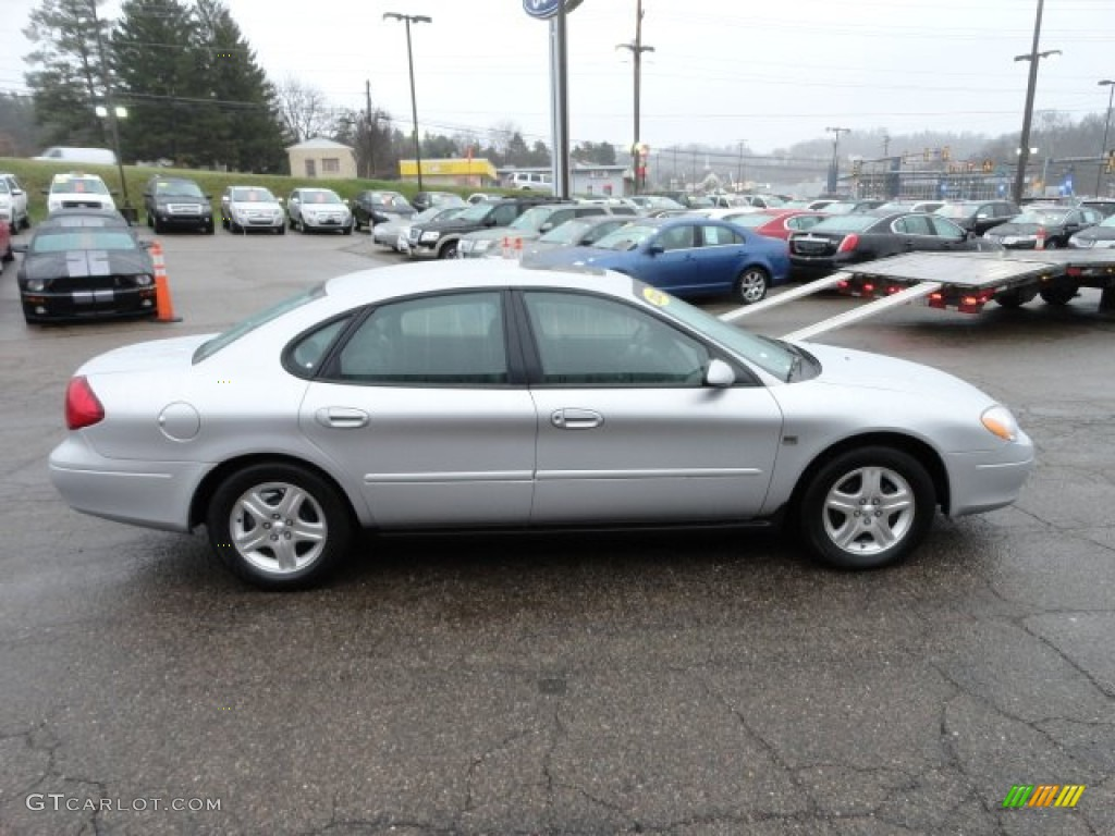 Silver Frost Metallic 2000 Ford Taurus SEL Exterior Photo ...