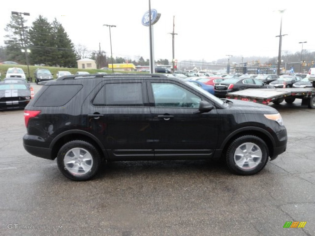Black 2012 Ford Explorer 4wd Exterior Photo 57143959