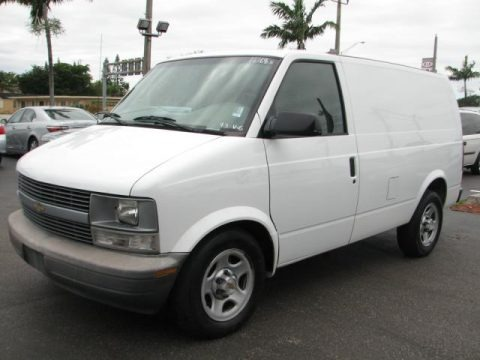 2003 Chevrolet Astro Commercial Data, Info and Specs