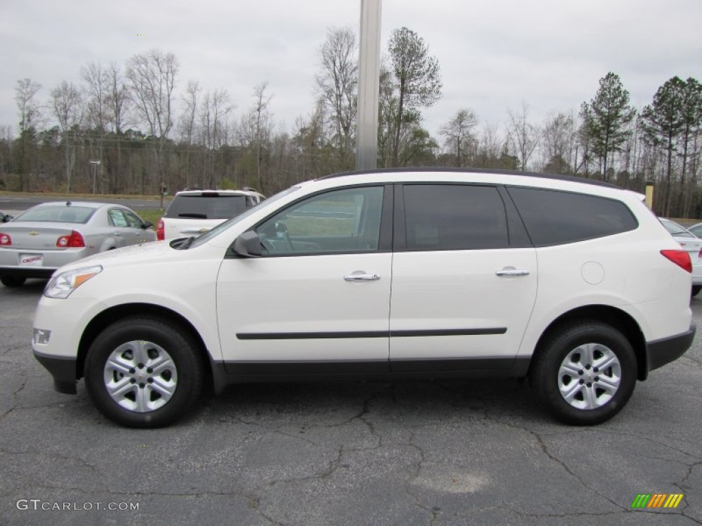 white 2012 chevrolet traverse ls exterior photo 57158812 gtcarlot. Cars Review. Best American Auto & Cars Review