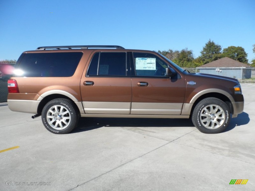 golden bronze metallic 2012 ford expedition el king ranch. Black Bedroom Furniture Sets. Home Design Ideas