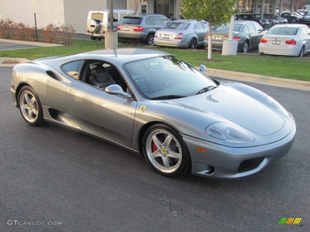 Titanium Metallic Gray 2003 Ferrari 360 Modena F1