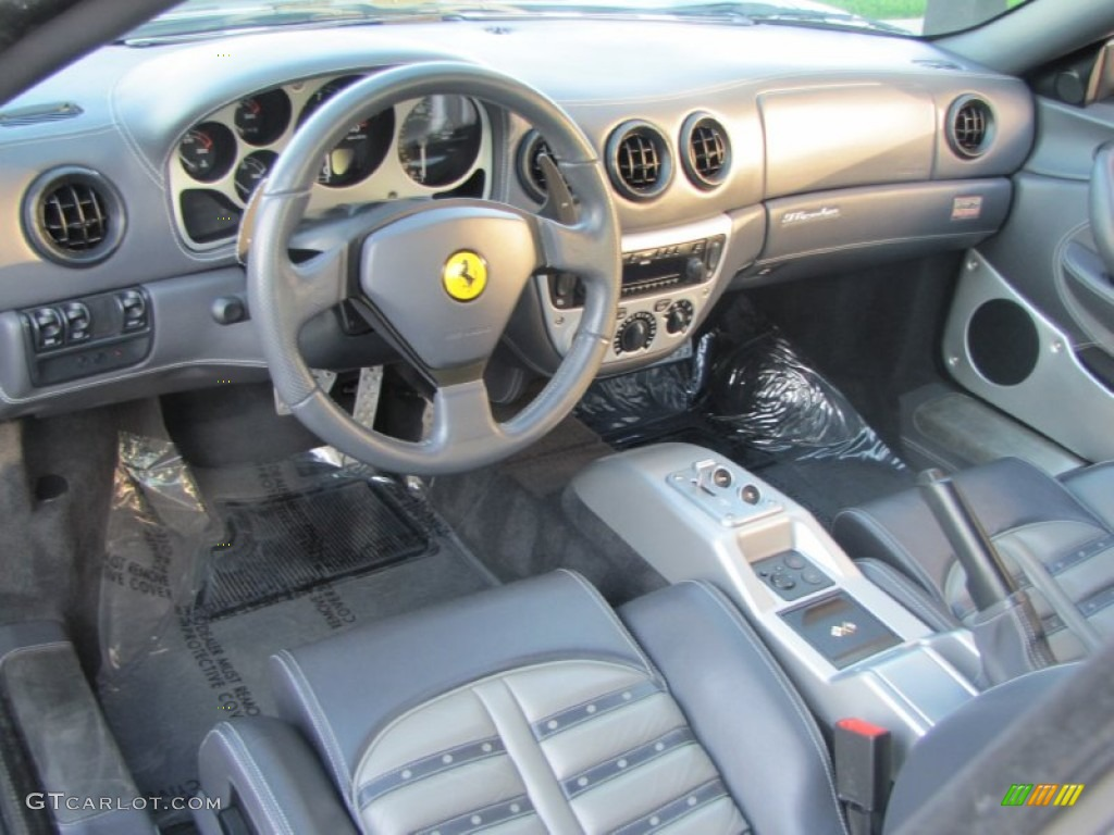 dark gray interior 2003 ferrari 360 modena f1 photo 57182926. Black Bedroom Furniture Sets. Home Design Ideas
