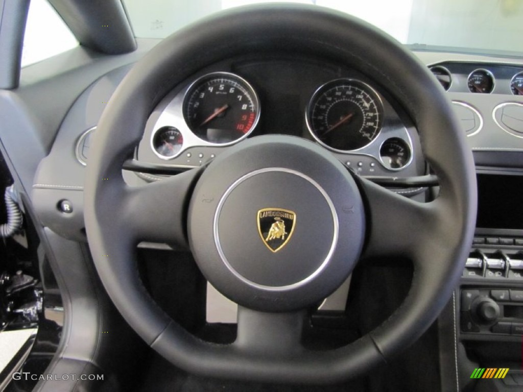 2012 Lamborghini Gallardo LP 550-2 Nero Perseus Steering ...