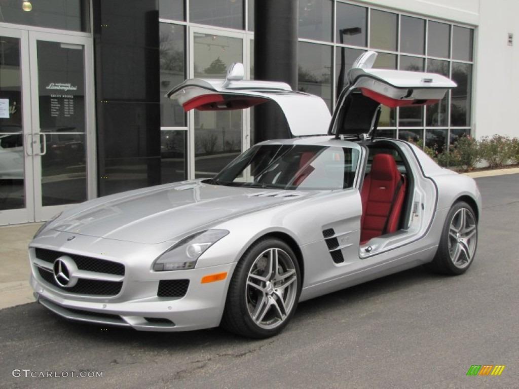 2011 Iridium Silver Metallic Mercedes Benz Sls Amg