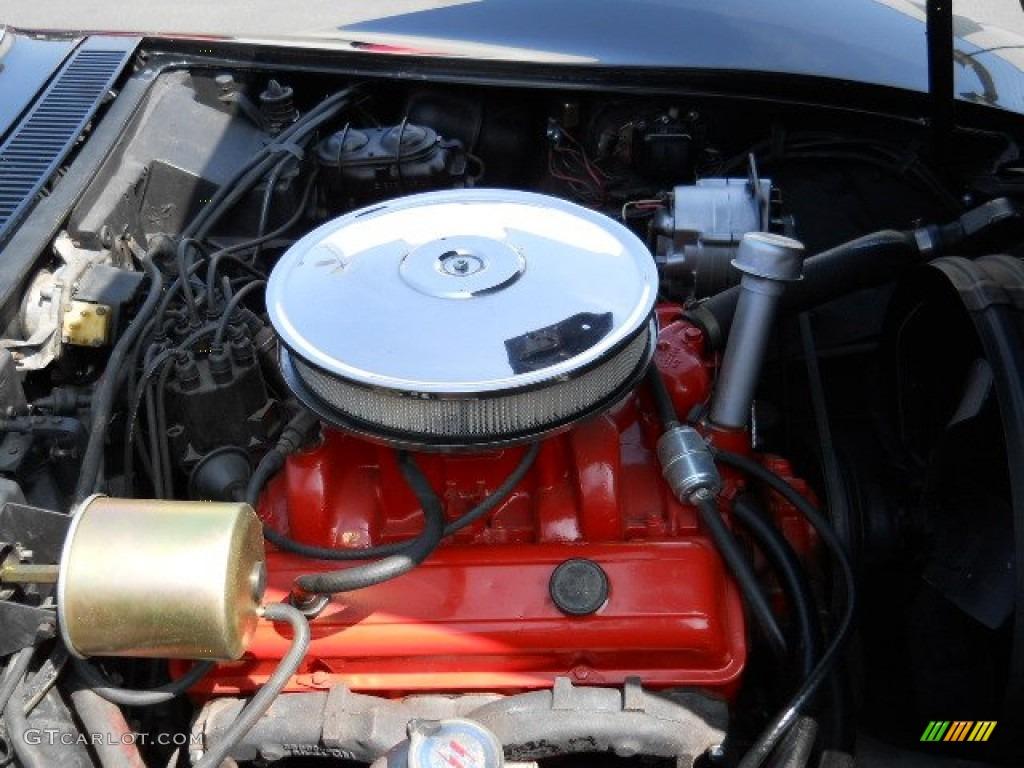 1968 Chevrolet Corvette Convertible 327 cid 350 HP OHV 16-Valve L79