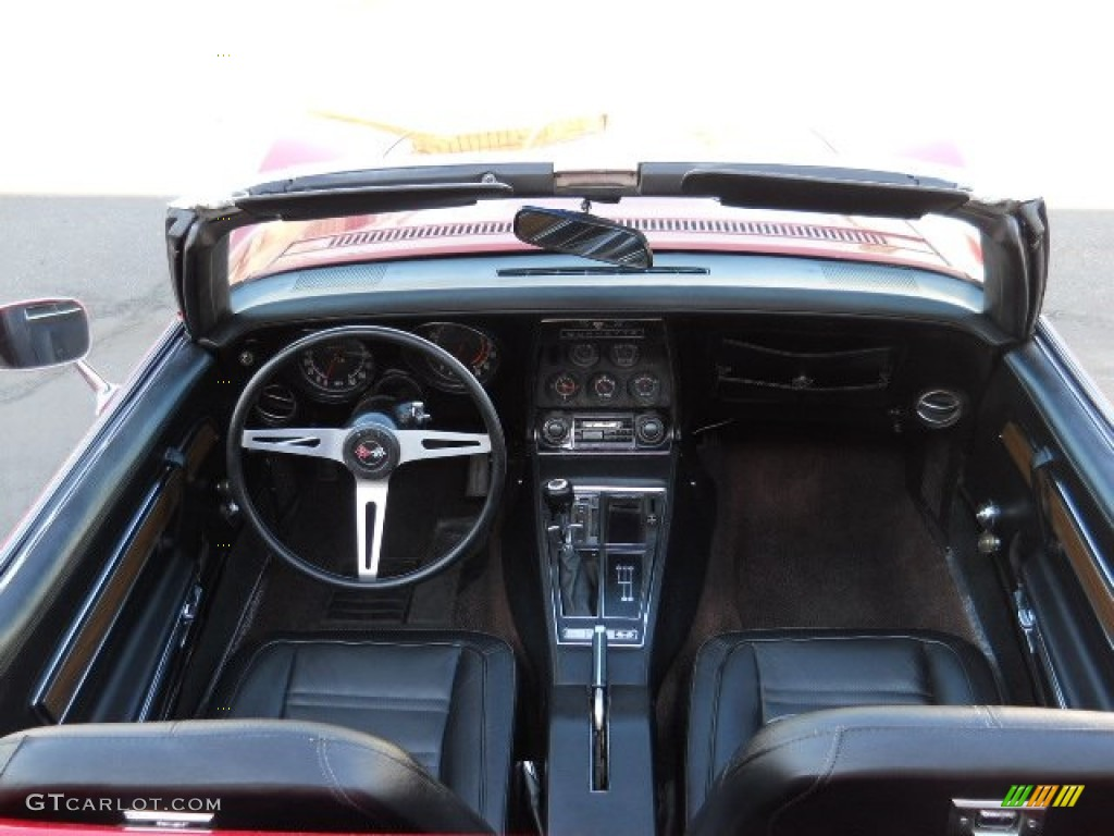 Black Interior 1972 Chevrolet Corvette Convertible Photo