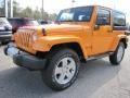 Dozer Yellow 2012 Jeep Wrangler Gallery