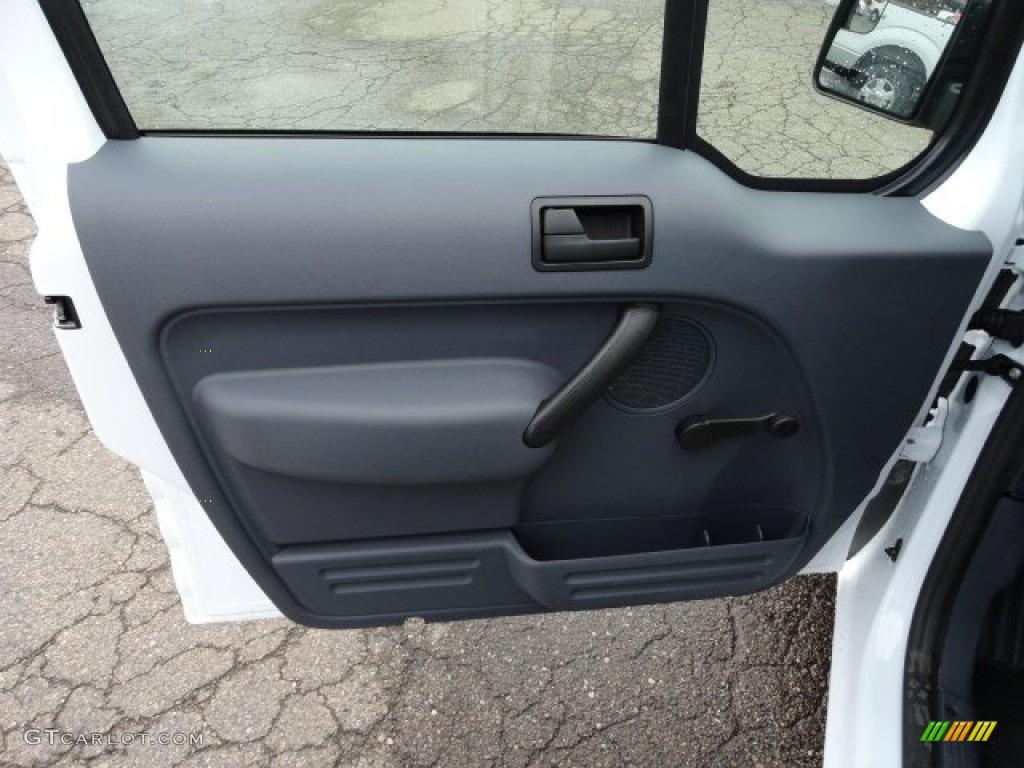 2012 Ford Transit Connect Xl Van Dark Grey Door Panel Photo 57204706