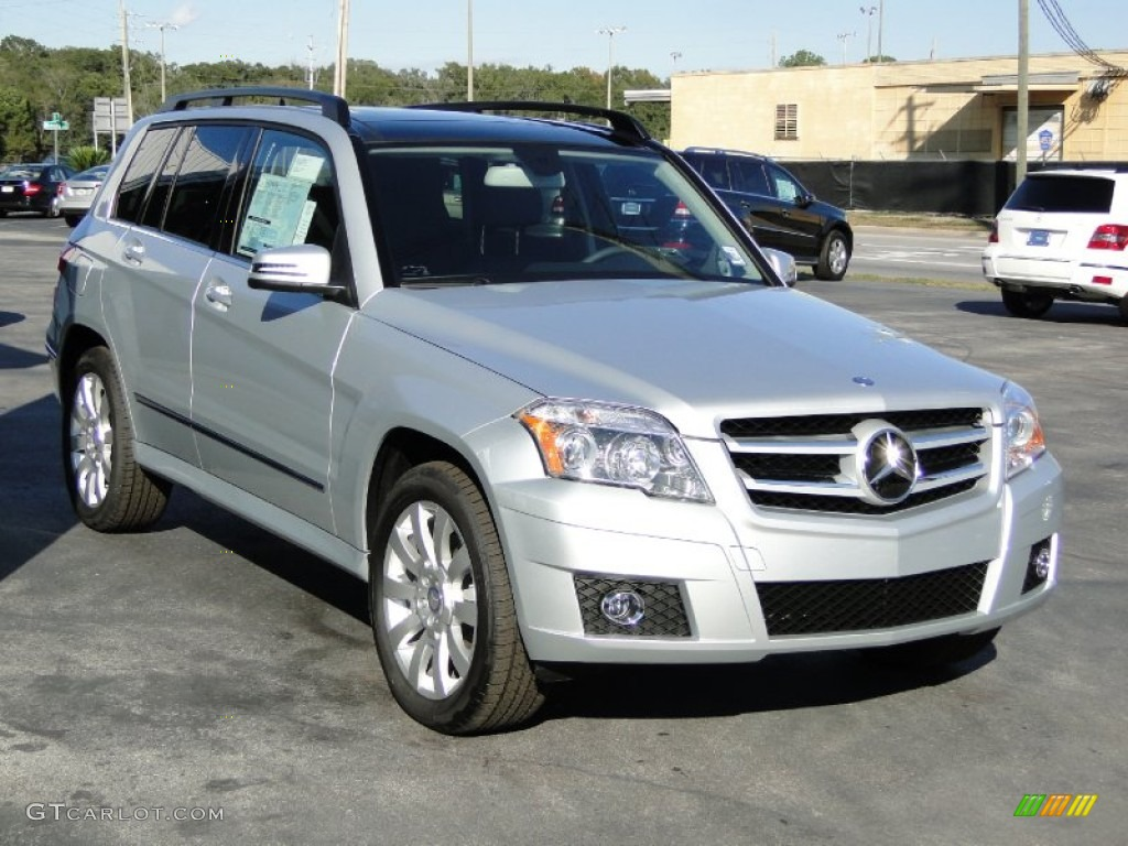 iridium silver metallic 2012 mercedes benz glk 350
