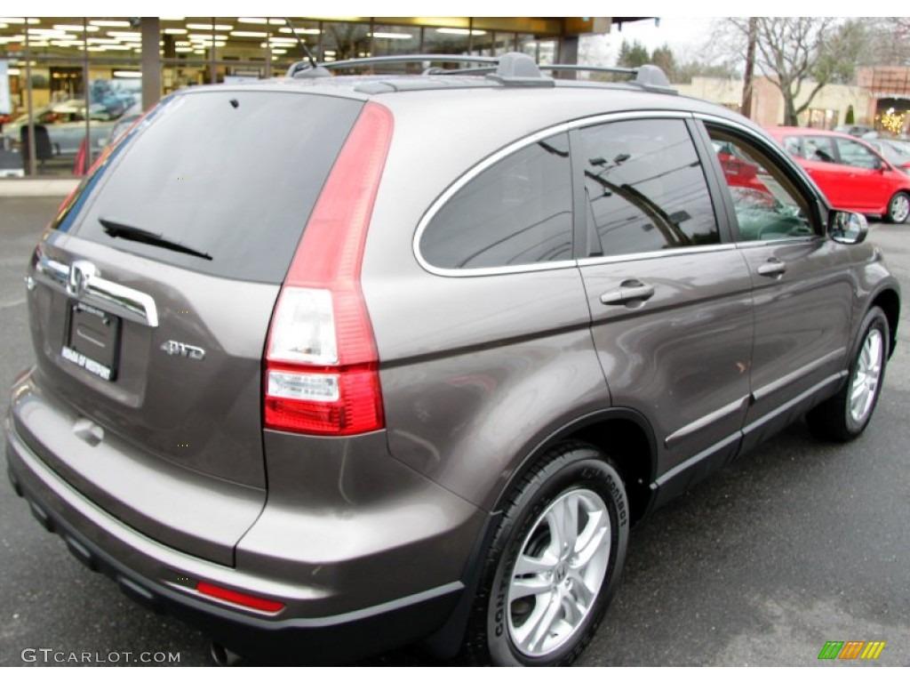 2011 CR-V EX-L 4WD - Urban Titanium Metallic / Ivory photo #6