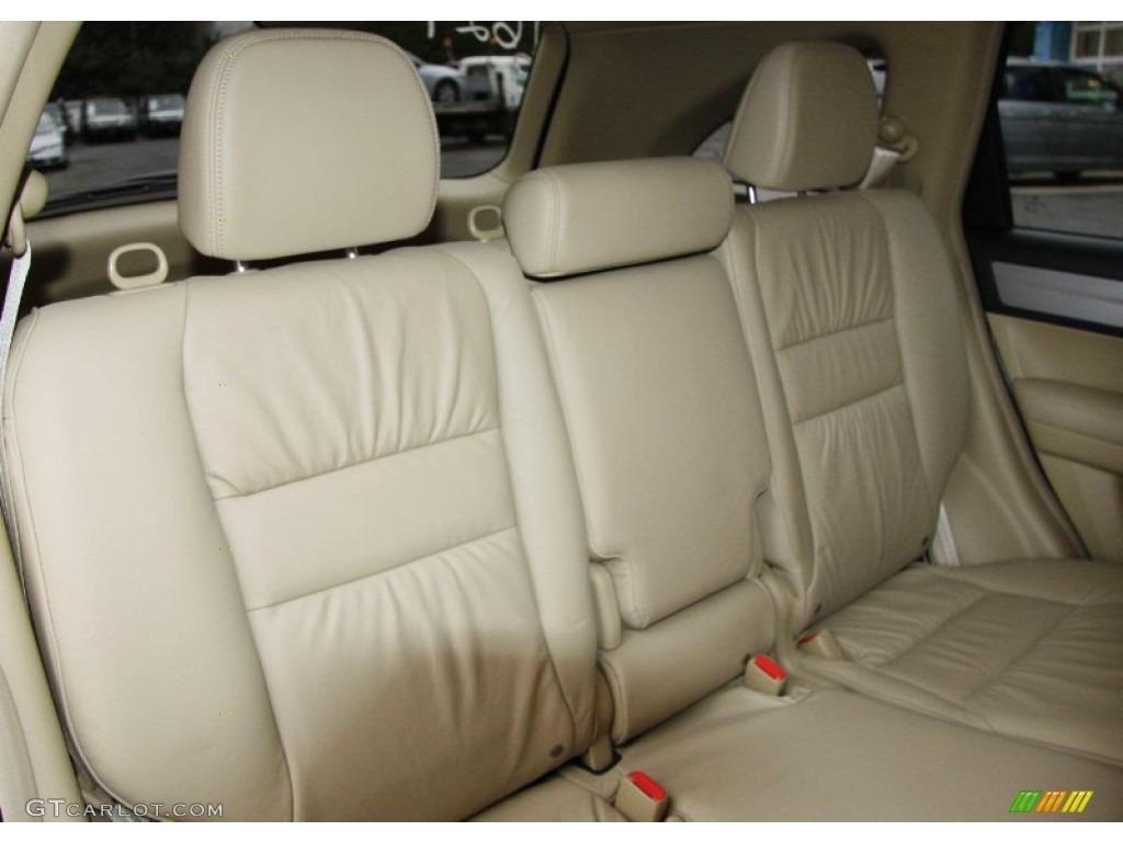2011 CR-V EX-L 4WD - Urban Titanium Metallic / Ivory photo #12