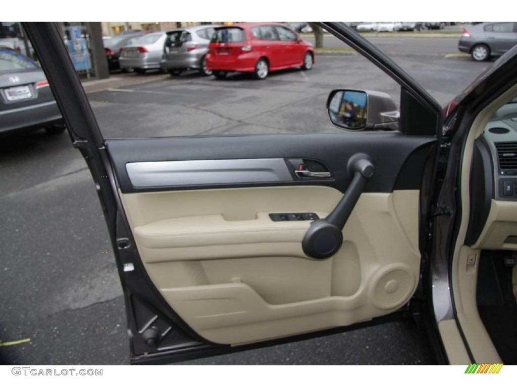 2011 CR-V EX-L 4WD - Urban Titanium Metallic / Ivory photo #14