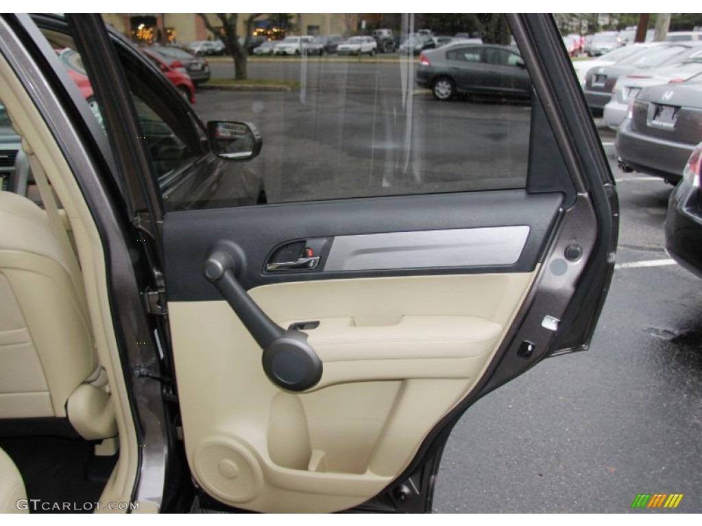 2011 CR-V EX-L 4WD - Urban Titanium Metallic / Ivory photo #15