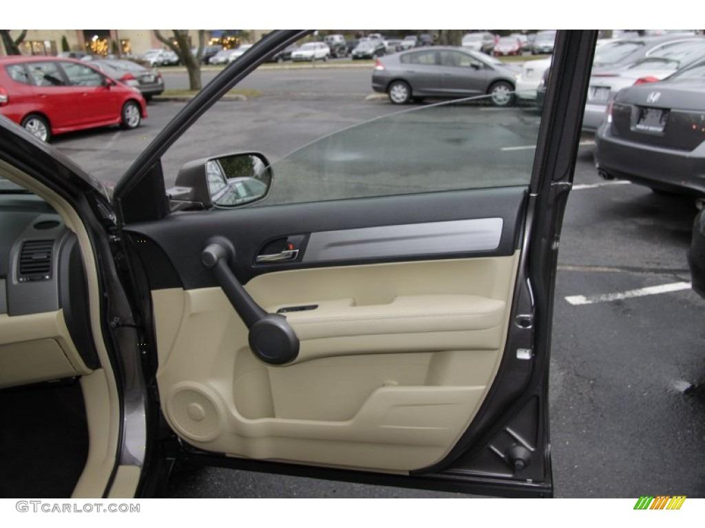 2011 CR-V EX-L 4WD - Urban Titanium Metallic / Ivory photo #17