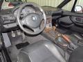 2000 BMW Z3 Black Interior Prime Interior Photo