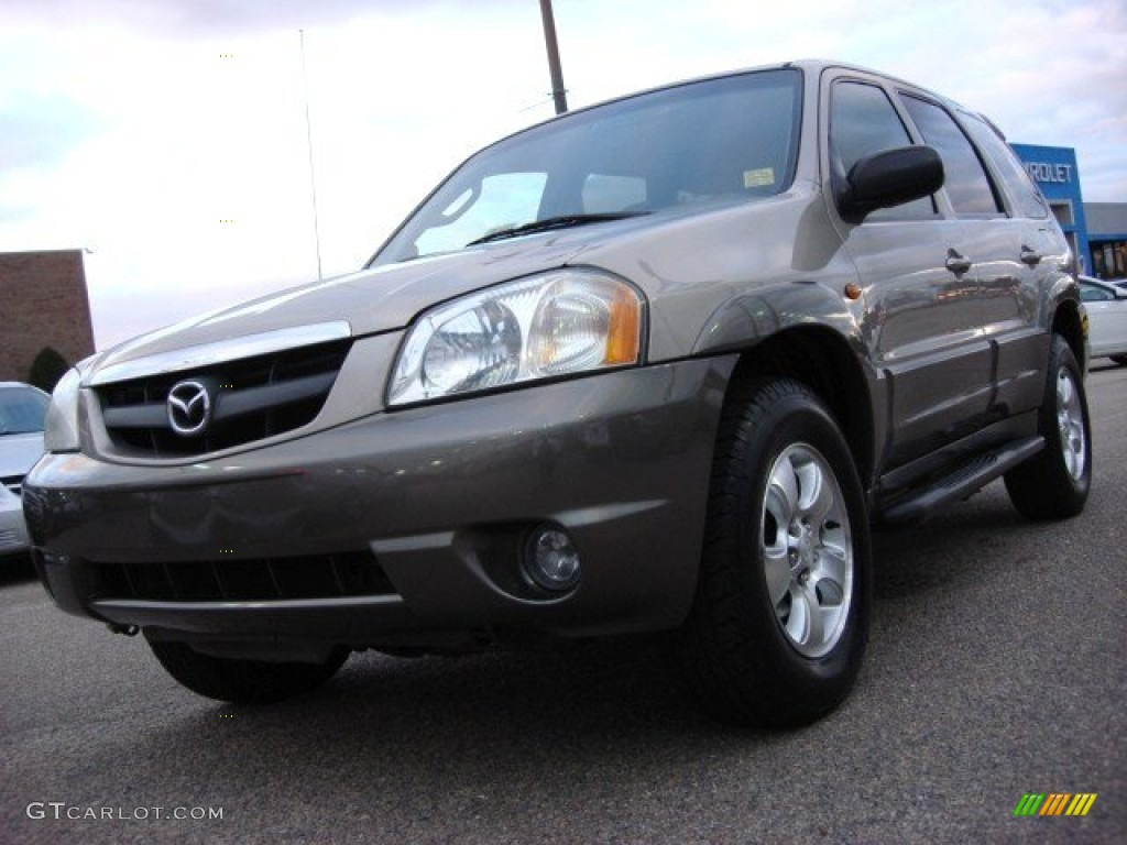 2001 parchment gold metallic mazda tribute lx v6 57216994 car color galleries. Black Bedroom Furniture Sets. Home Design Ideas