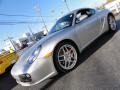 2009 Arctic Silver Metallic Porsche Cayman S  photo #1